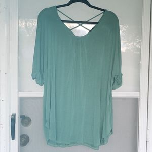 NWOT Green Vision Boutique Brand Top